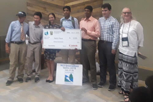 2018 RI Envirothon Winners & 9th Place at the NCF North American Envirothon - The Wheeler School